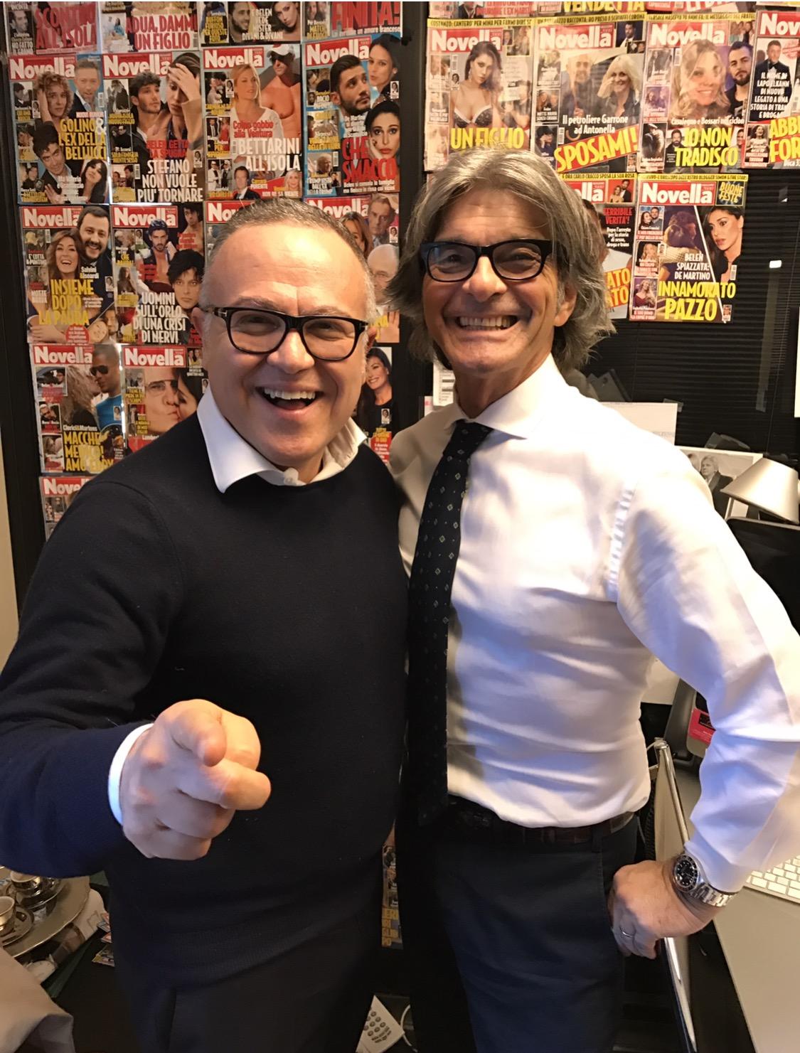 Stefano Blandaleone incontra Roberto Alessi