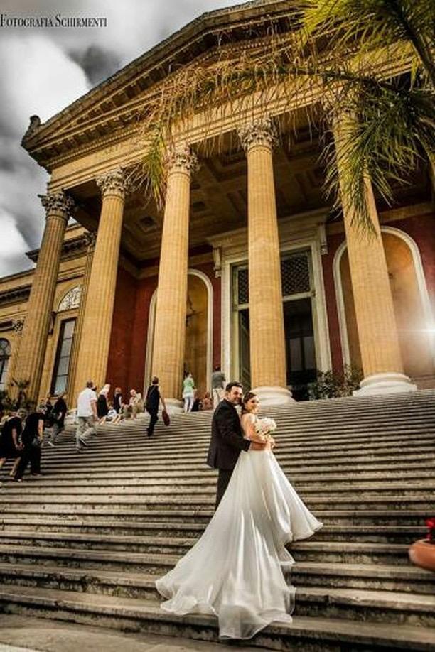 Stefano Blandaleone per l'Atelier Giodana Spose di Palermo