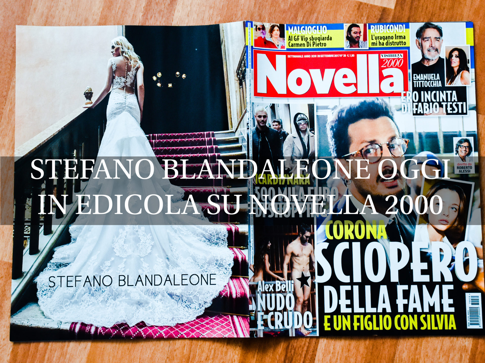 Stefano Blandaleone su Novella 2000