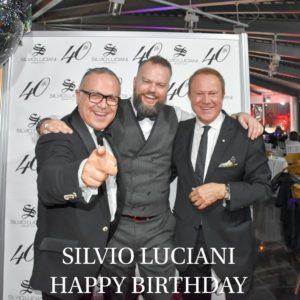 Stefano Blandaleone & Silvio Luciani with Sergio Valente