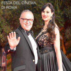 Stefano Blandaleone veste Isabelle Adriani alla Festa del Cinema di Roma