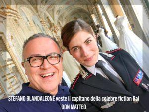 Stefano Blandaleone veste la celebre fiction RAI Don Matteo