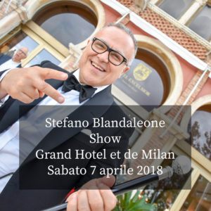 Wedding Time: Stefano Blandaleone Show 7 apr