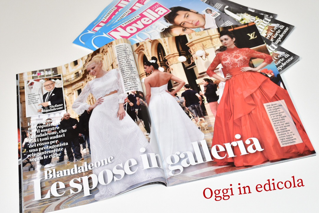 Stefano Blandaleone Show - Galleria Vittorio Emanuele Milano