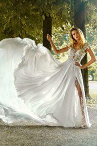 abito sposa stefano blandaleone modello 1824 foto 3 collezione 2019