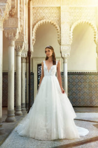 abito sposa 2019 collezione stefano blandaleone luxuty vibes