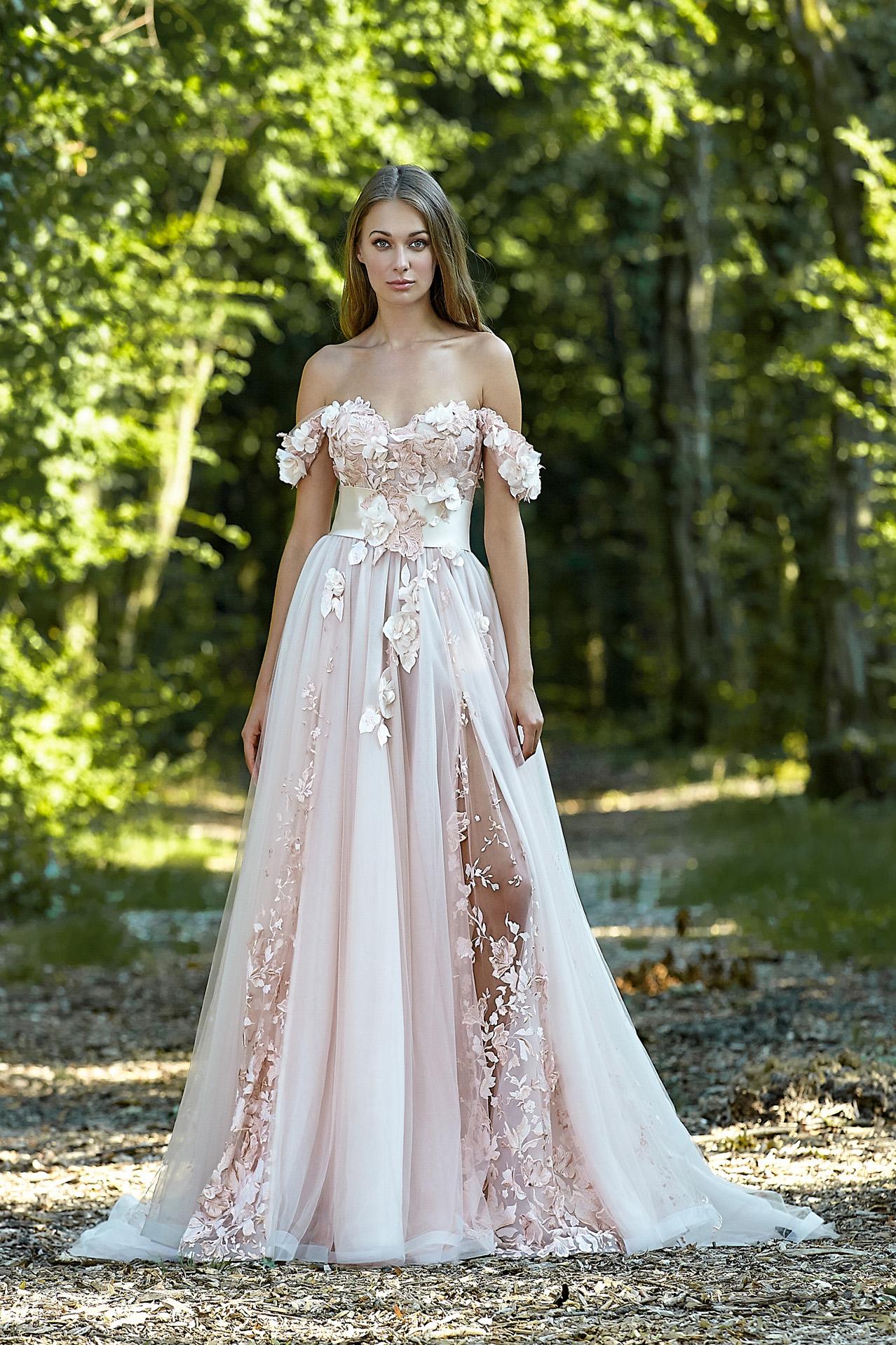 Abiti da sposa floral