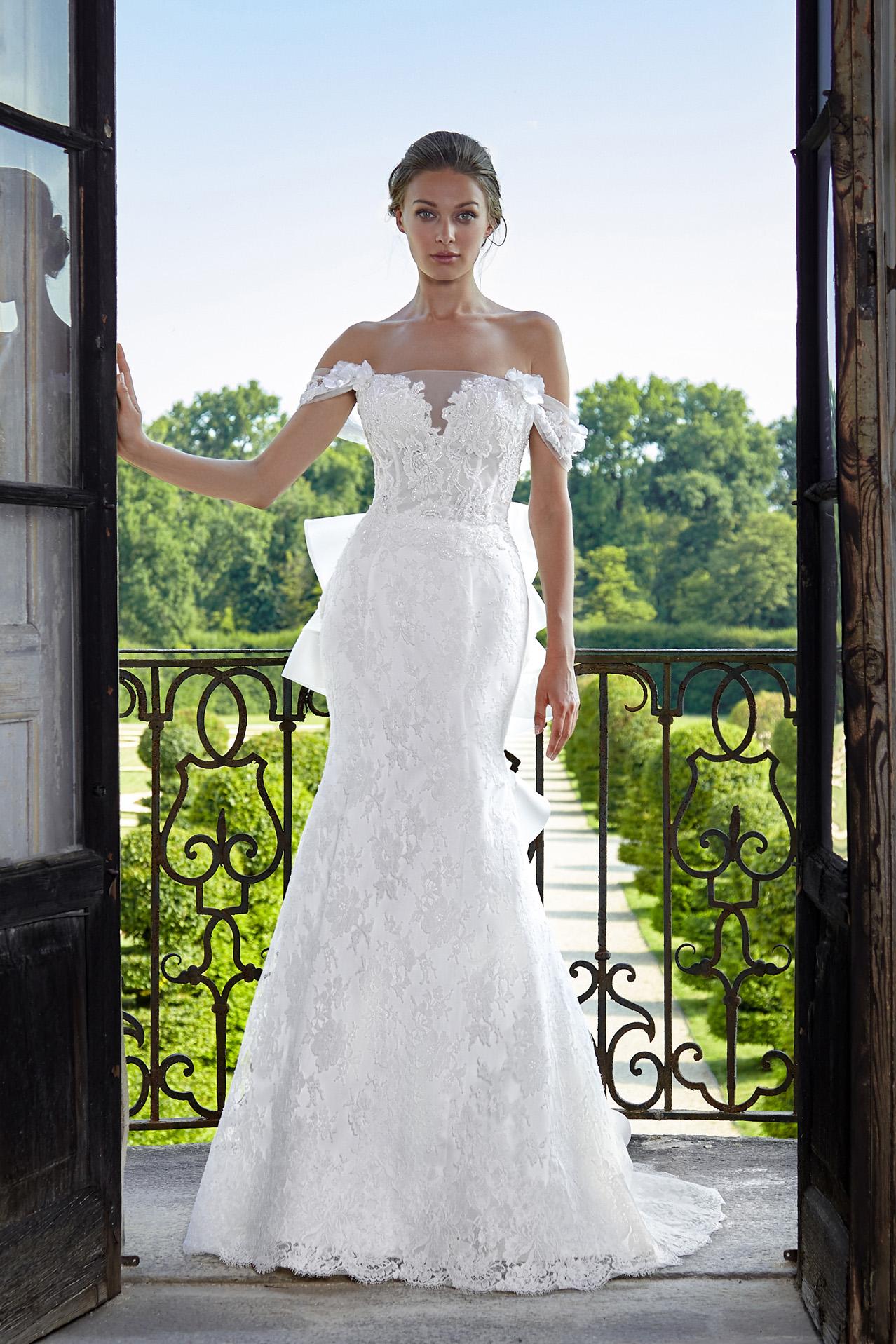 abito da sposa modello 2021 - foto davanti 02