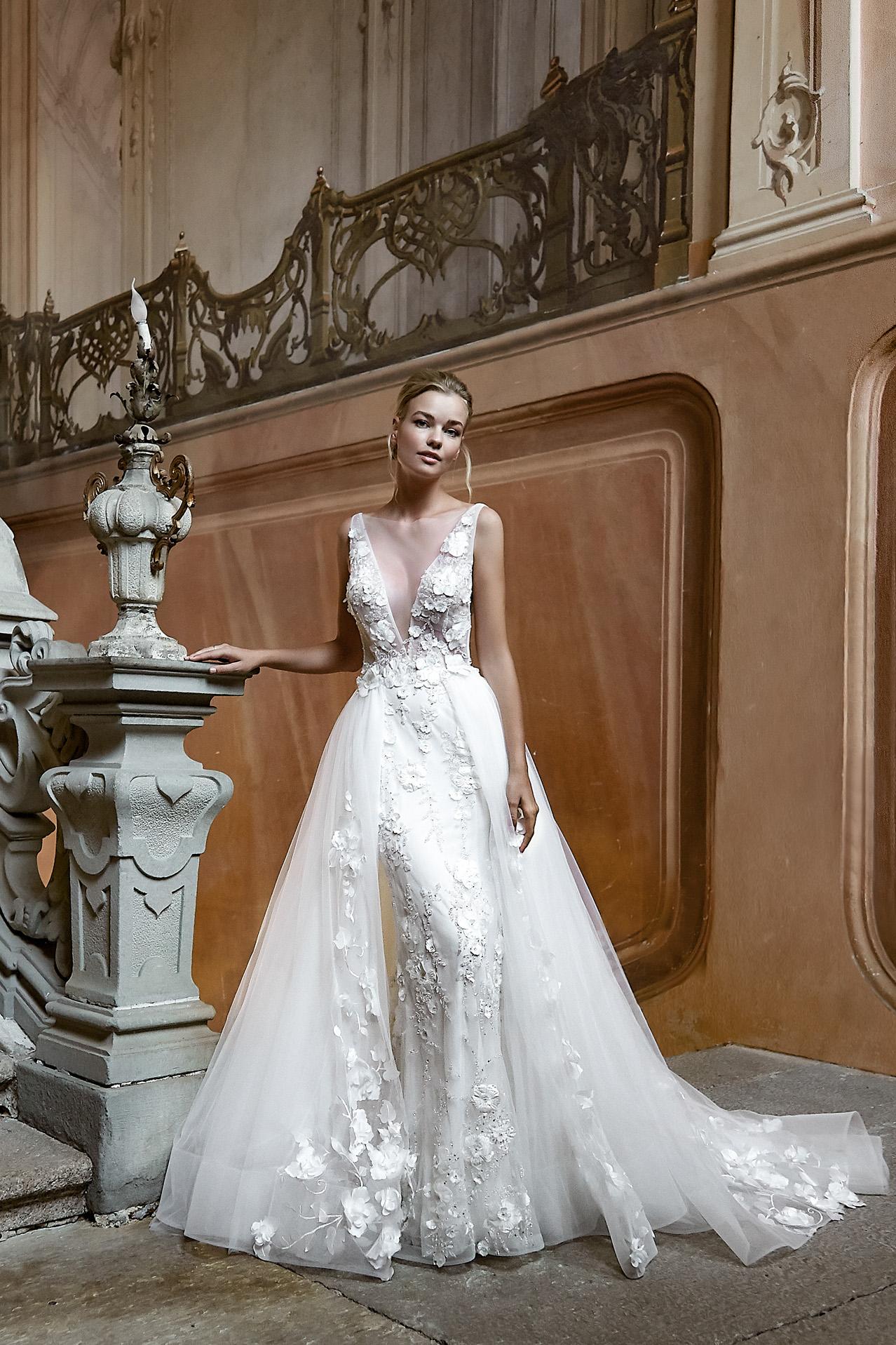 abito da sposa modello 2021 - foto davanti