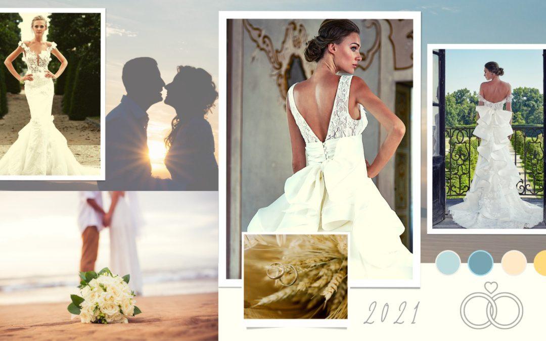Bride to be: i 10 temi per il matrimonio 2021