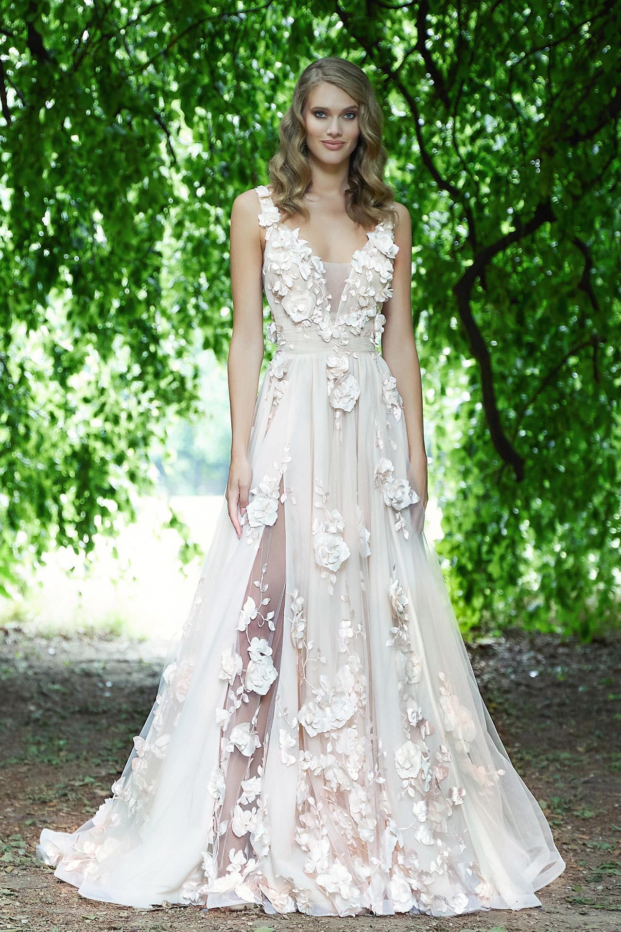 Gli abiti da sposa floral