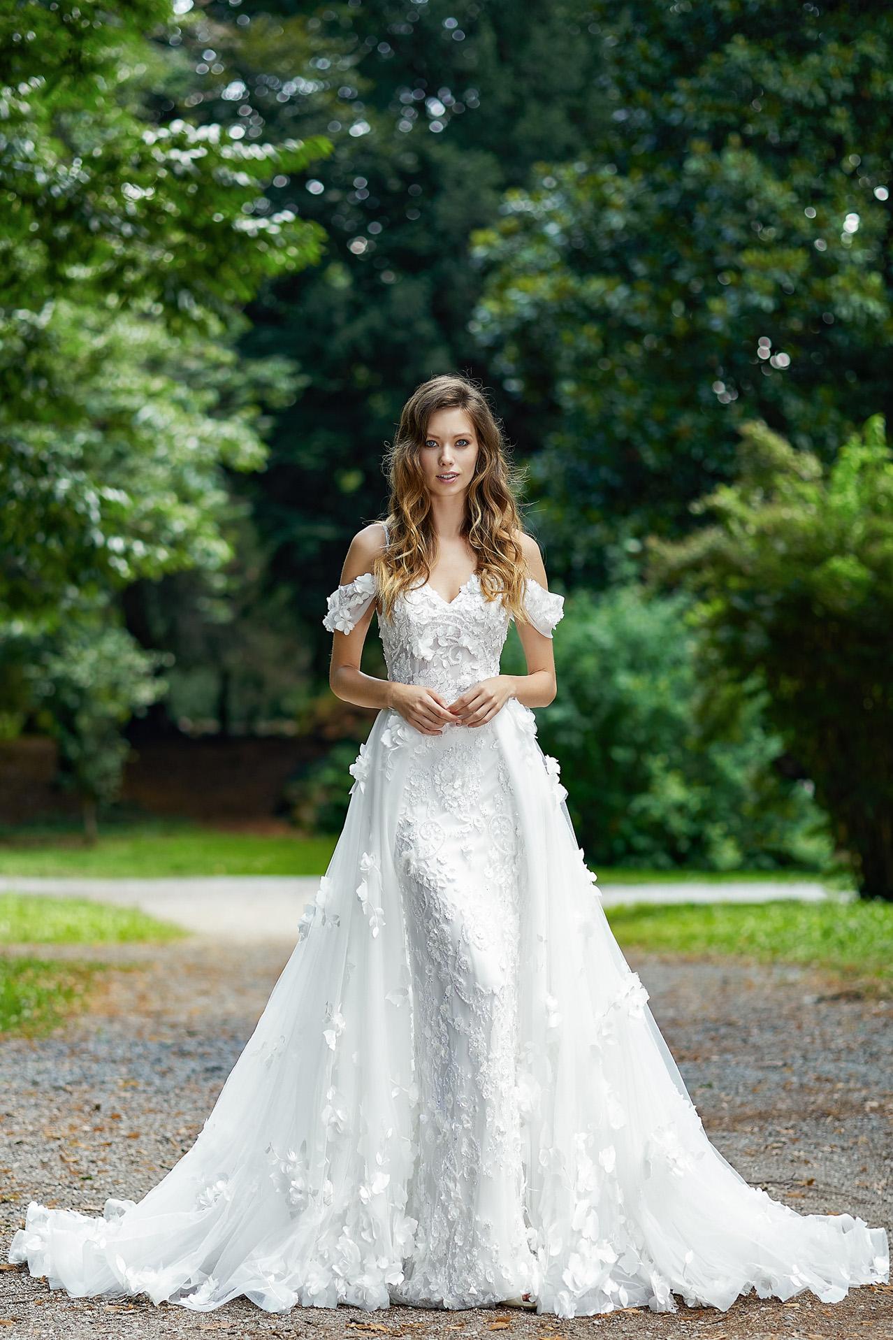 Abito Sposa Modello 2024 - foto davanti