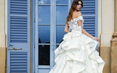 Gli abiti da sposa scultura